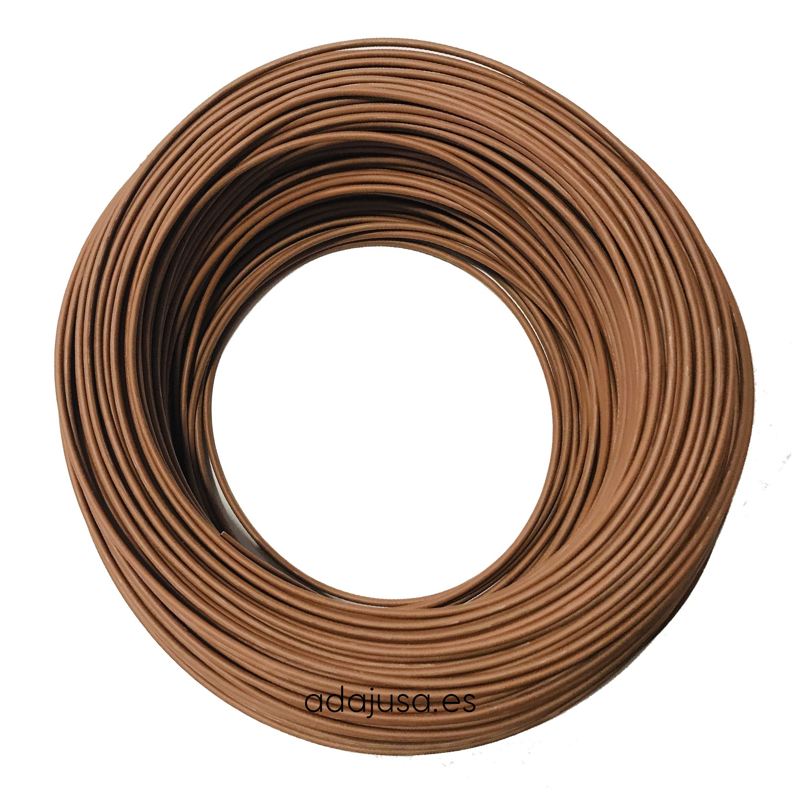 Flexible cable 4 mm2 unipolar brown color