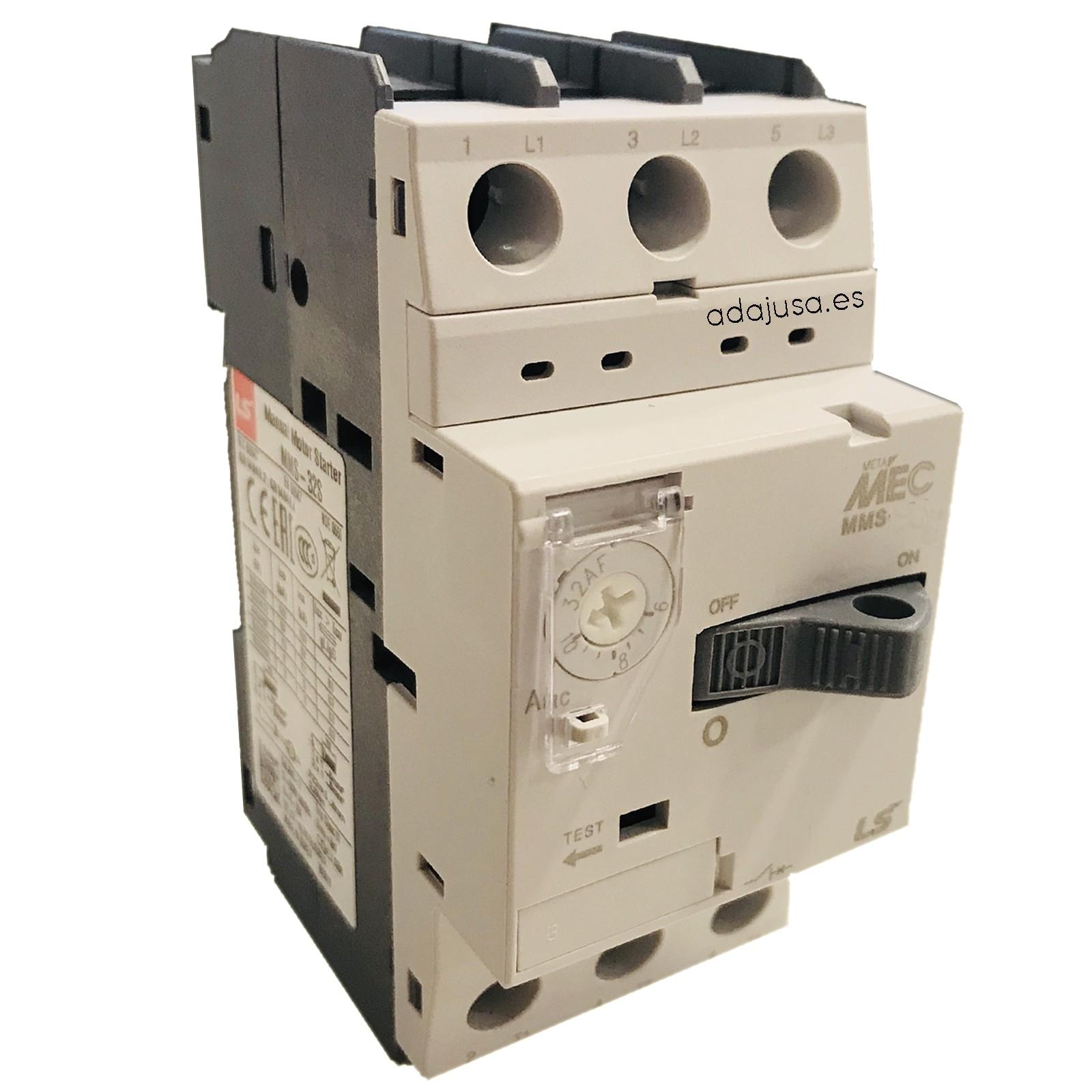 Motorschutzschalter 1,6 bis 2,5 A MMS-32S - LSis